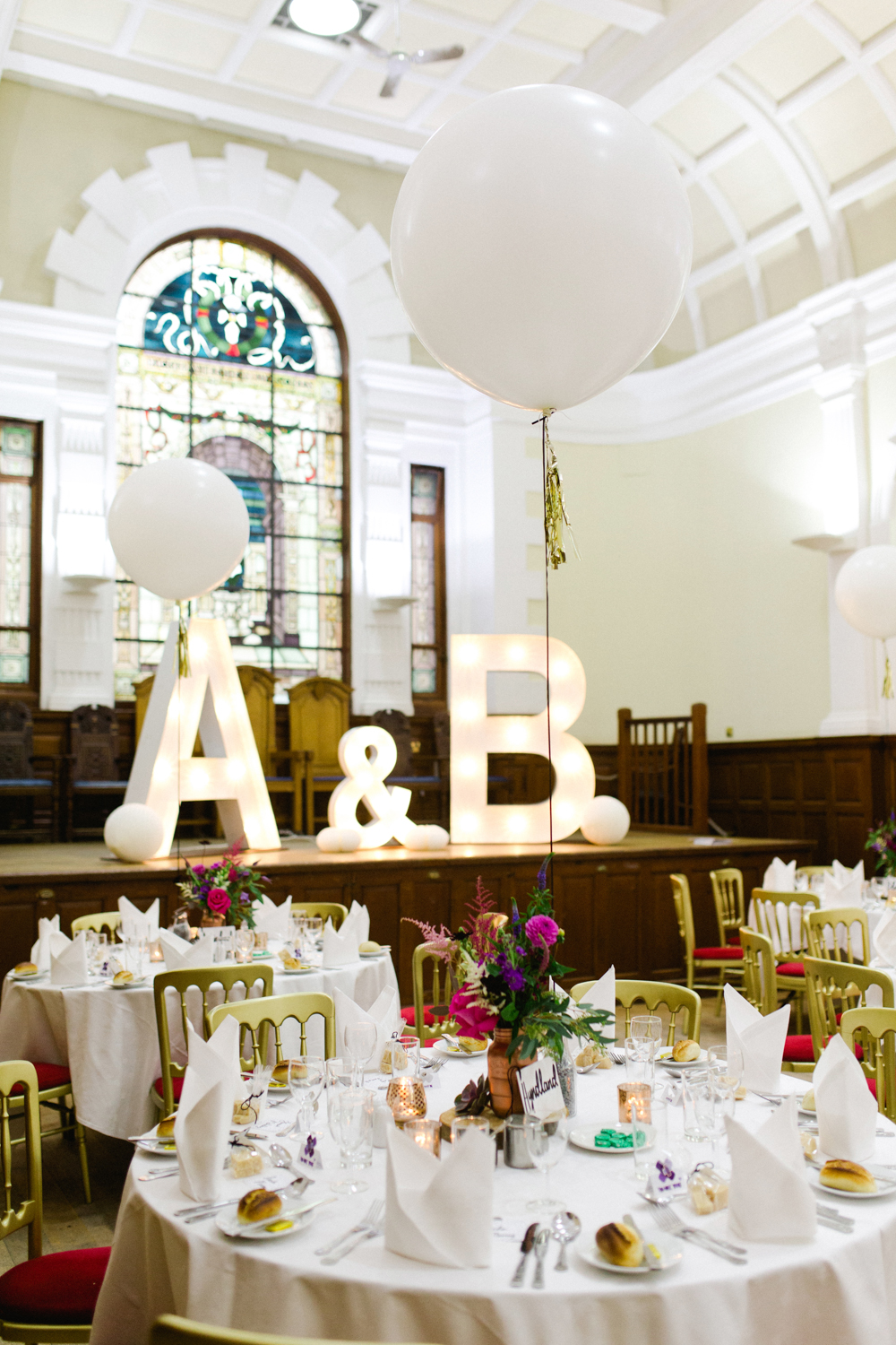 Jewel toned wedding at pollokshields burgh hall in glasgow with image by a ombrellifo Images