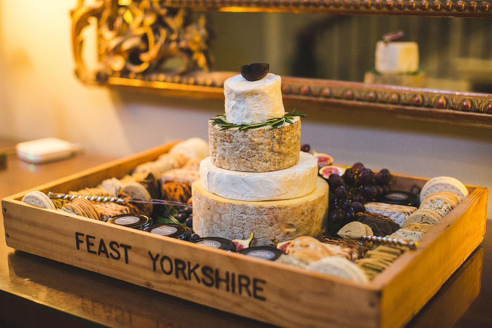 Cheese Wedding Cake South Yorkshire Blush Navy Classic At Saltmarshe Hall In East