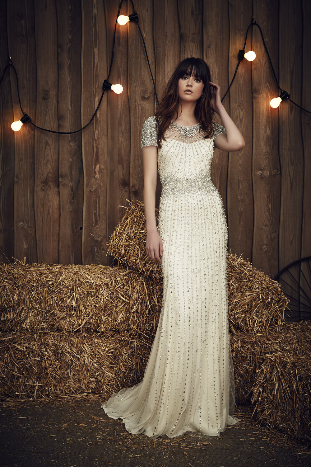 2017 bridal collection from jenny packham rock my for Wedding dress designer jenny packham