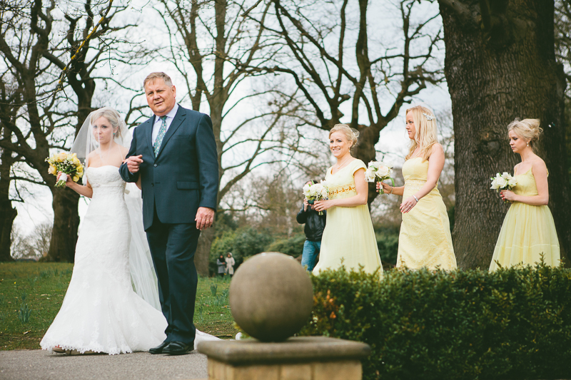 Pronovias Real Wedding Inspiration: A Yellow Themed Vintage Inspired Easter Wedding At