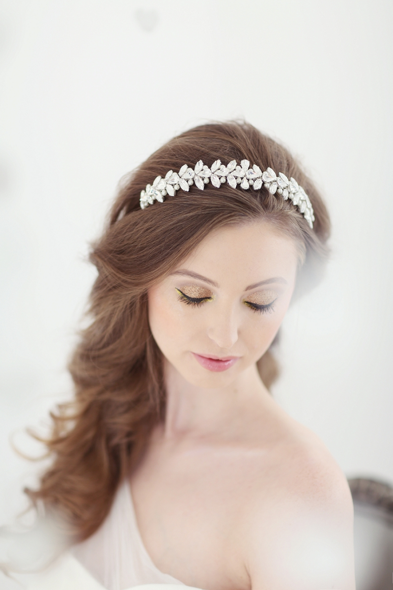 Wedding hair accessories gloucestershire - Pastel Valentines Day Inspired Bridal Shoot Featuring Hair Accessories From Corrine Smith Design With Flowers From I Heart Flowers