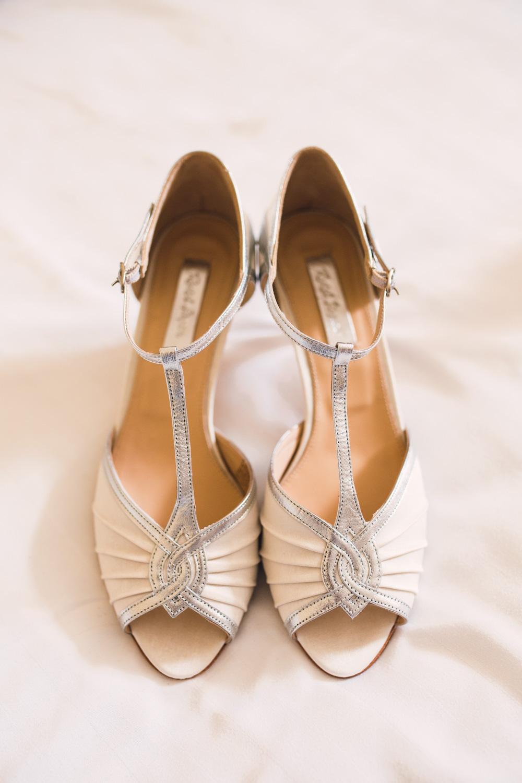 Rachel Simpson Ivory T Bar Matilda Wedding Shoes