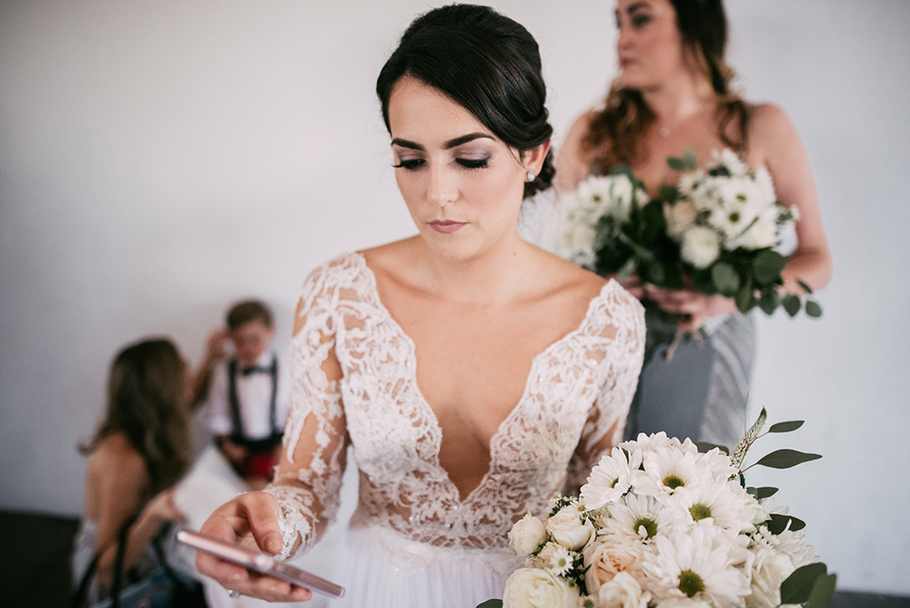 Stylish Wedding At The M Building In The Miami Art