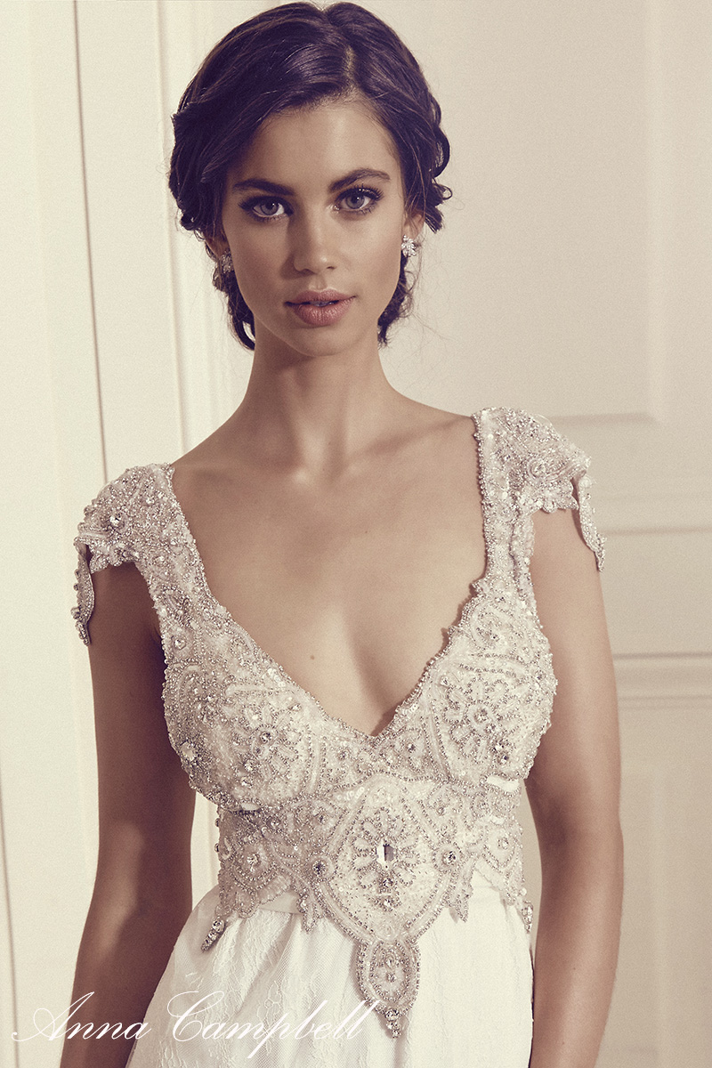 Gossamer bridal collection anna campbell for Anna campbell wedding dresses