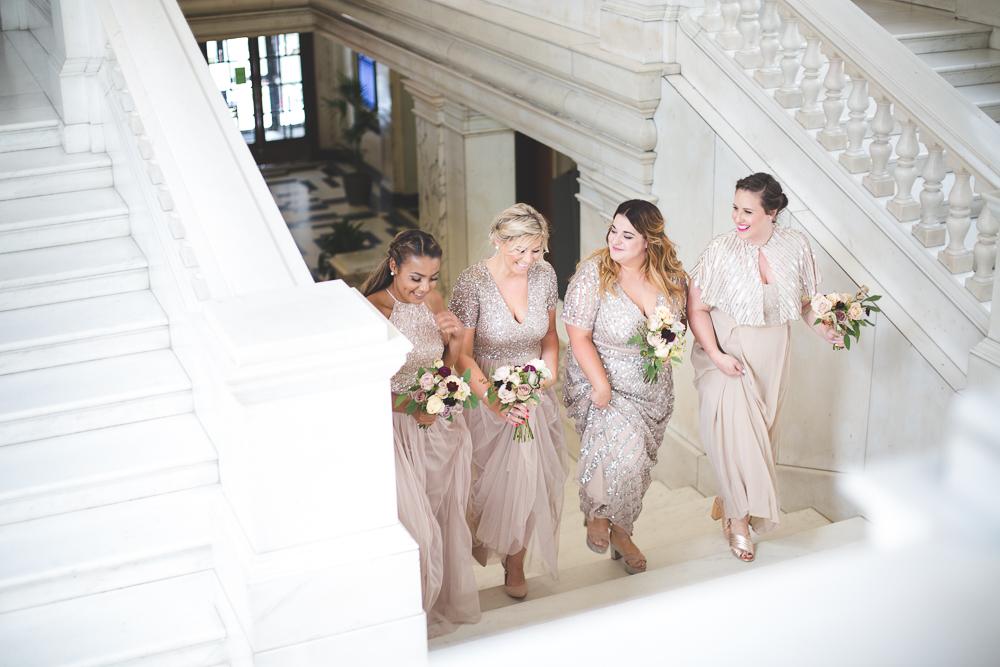 Simple Wedding Dresses Asos: Callie Thorpe Stylish Wedding At 06 St Chad's Place London