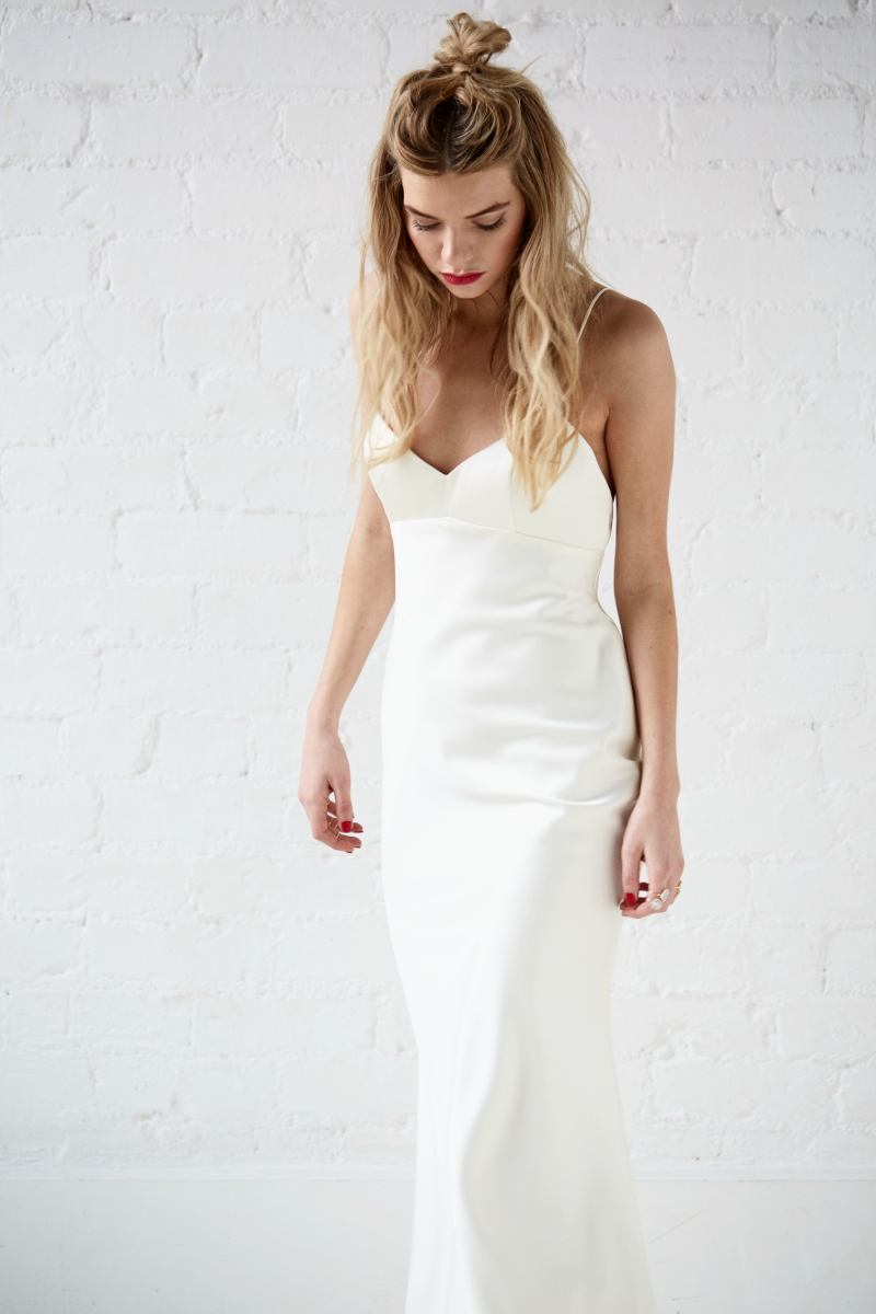 Bridal separates collection from charlotte balbier rock for Dresses for registry office wedding