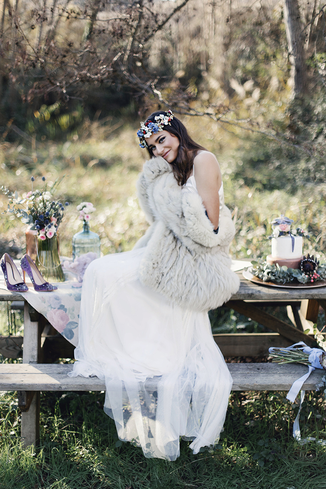 Otaduy Wedding Dresses For A Bohemian Bridal Inspiration Shoot