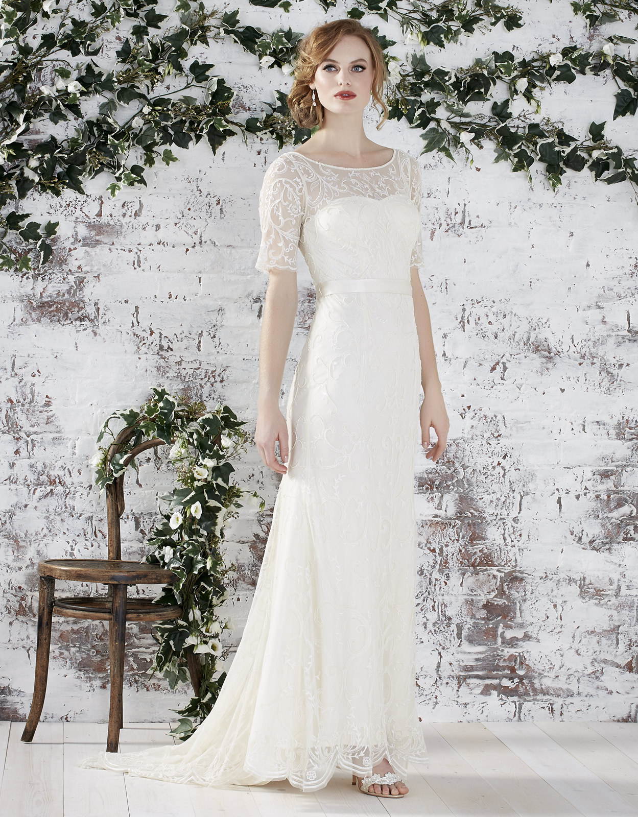 The new monsoon bridal collection rock my wedding uk for Wedding dresses made in uk