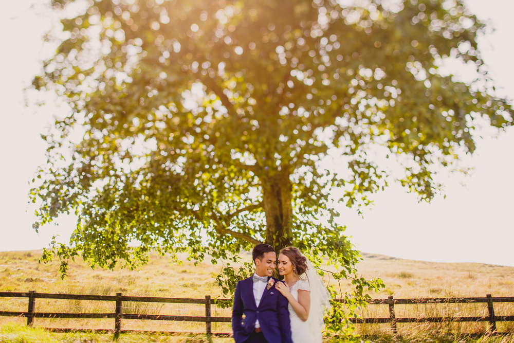 Brightly Coloured Wedding At Breckenhill In Northern