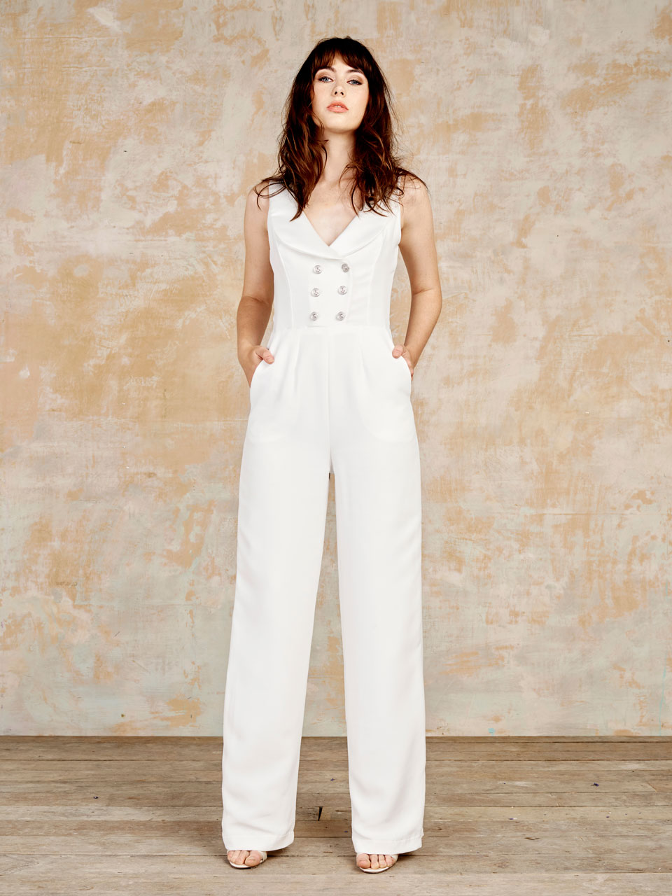 Wedding Bridal Jumpsuits stunning unique bridal jumpsuits from house of ollichon rock laird