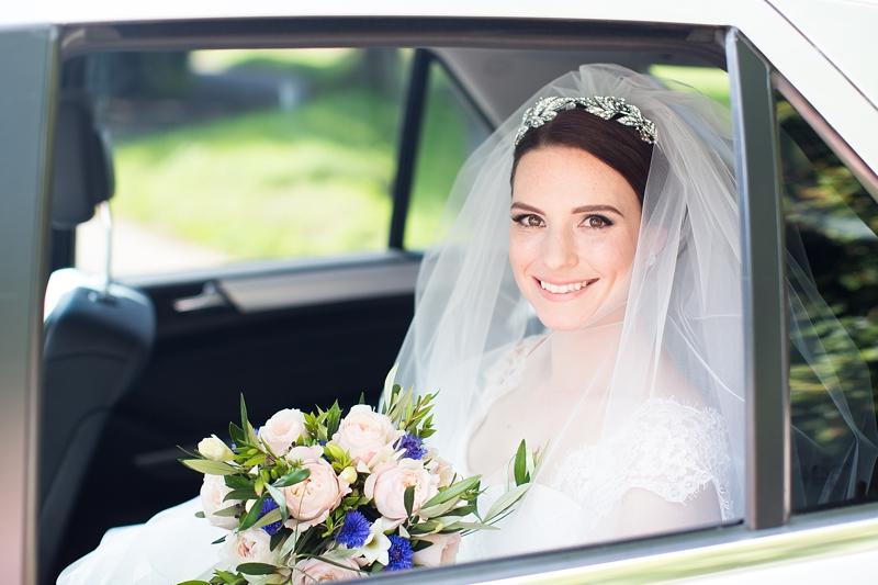 Elegant Wedding At Chaucer Barn Norfolk With Bride In