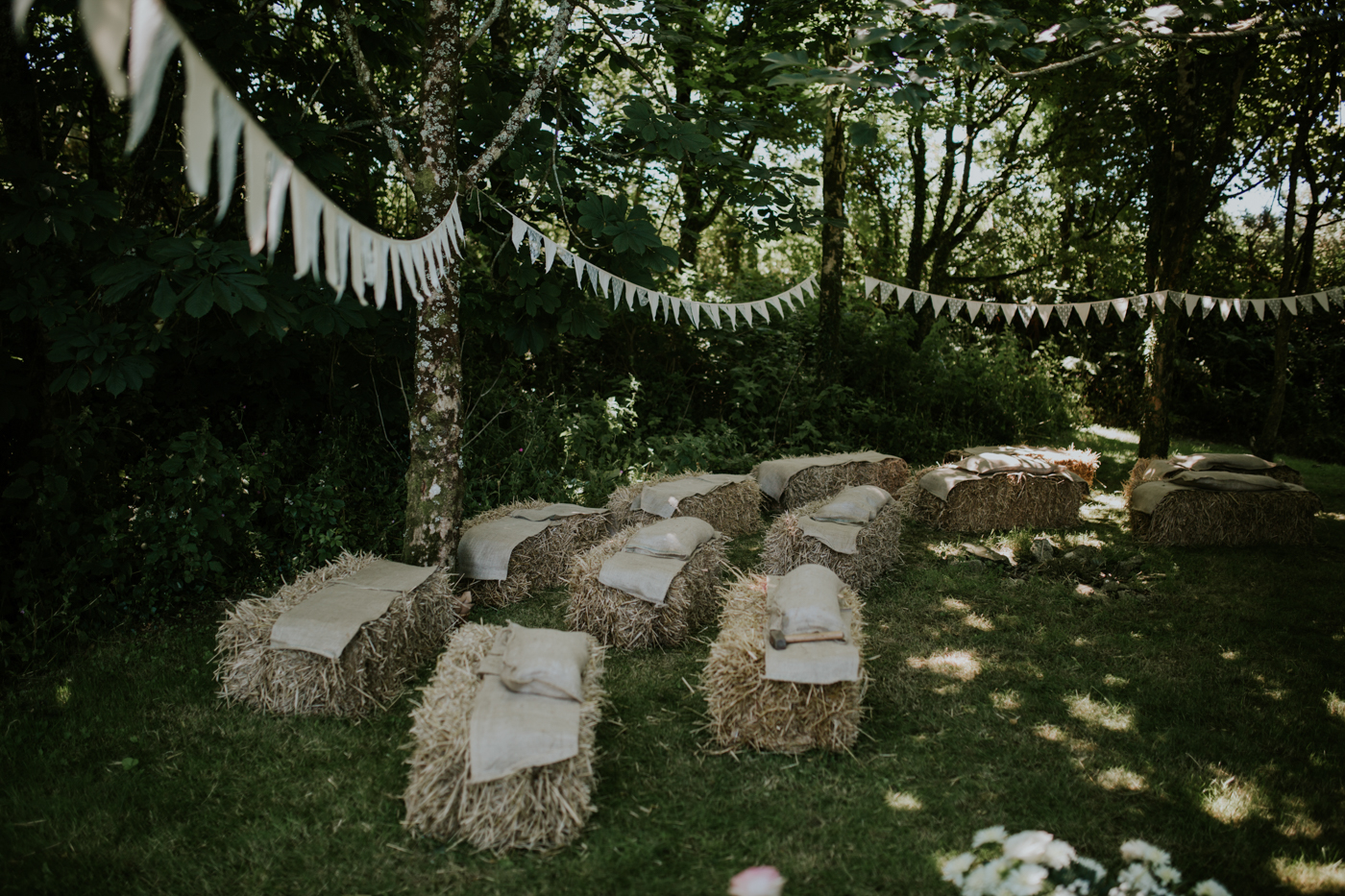 woodland themed wedding in a greenhouse enchanted brides photo