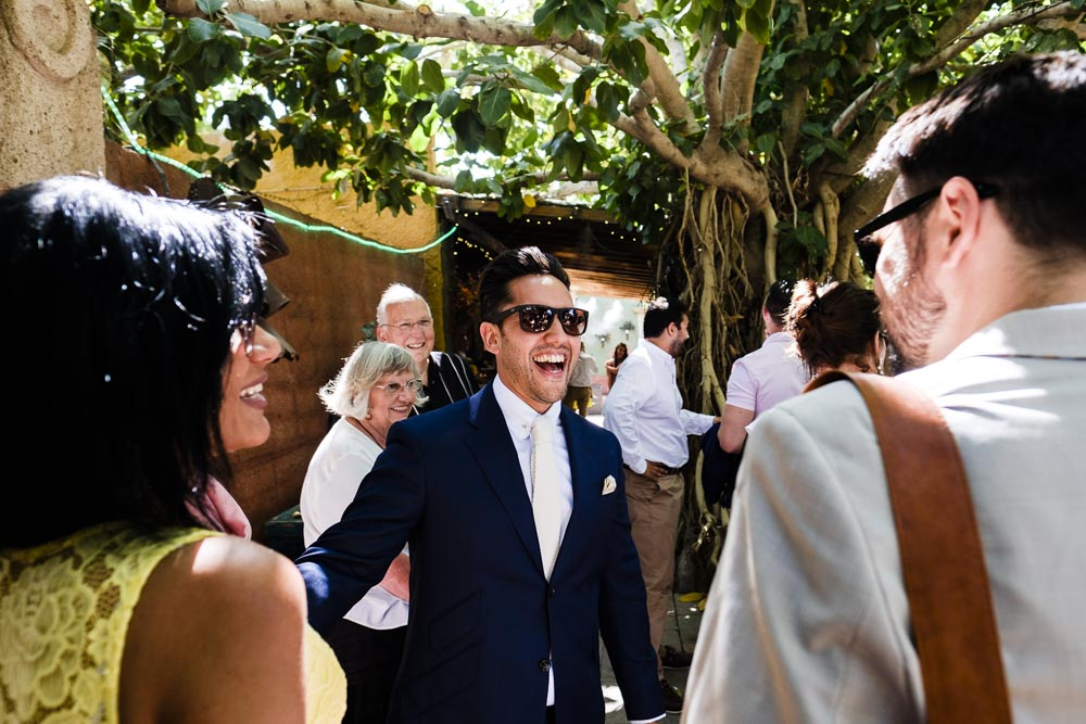 Outdoor Wedding Ceremony & Reception At Boojum Tree In