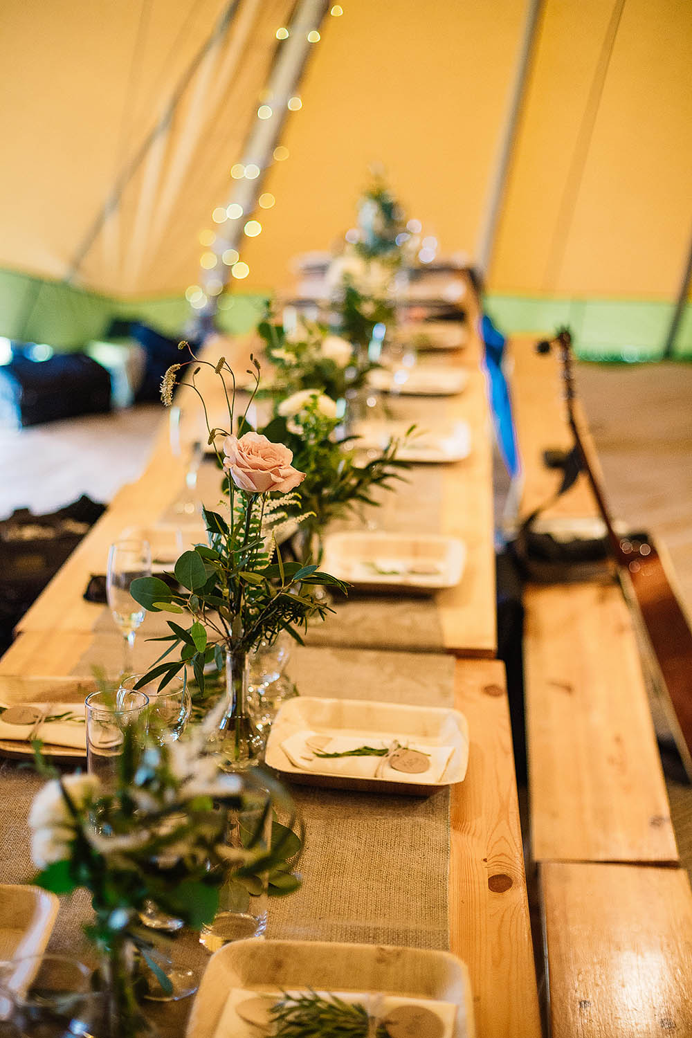 Botanical Outdoor Wedding At Hill Top Farm In Cheshire