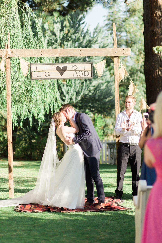 Olive canon wedding