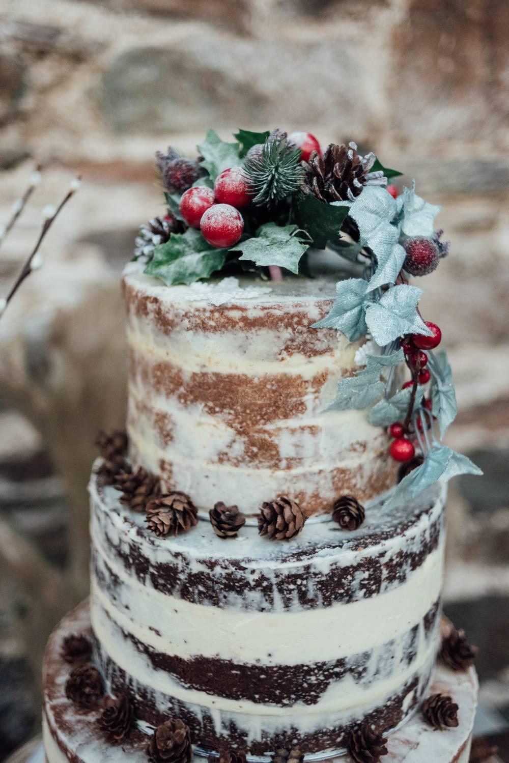.: Christmas Wedding C ake |Christmas Wedding Cakes