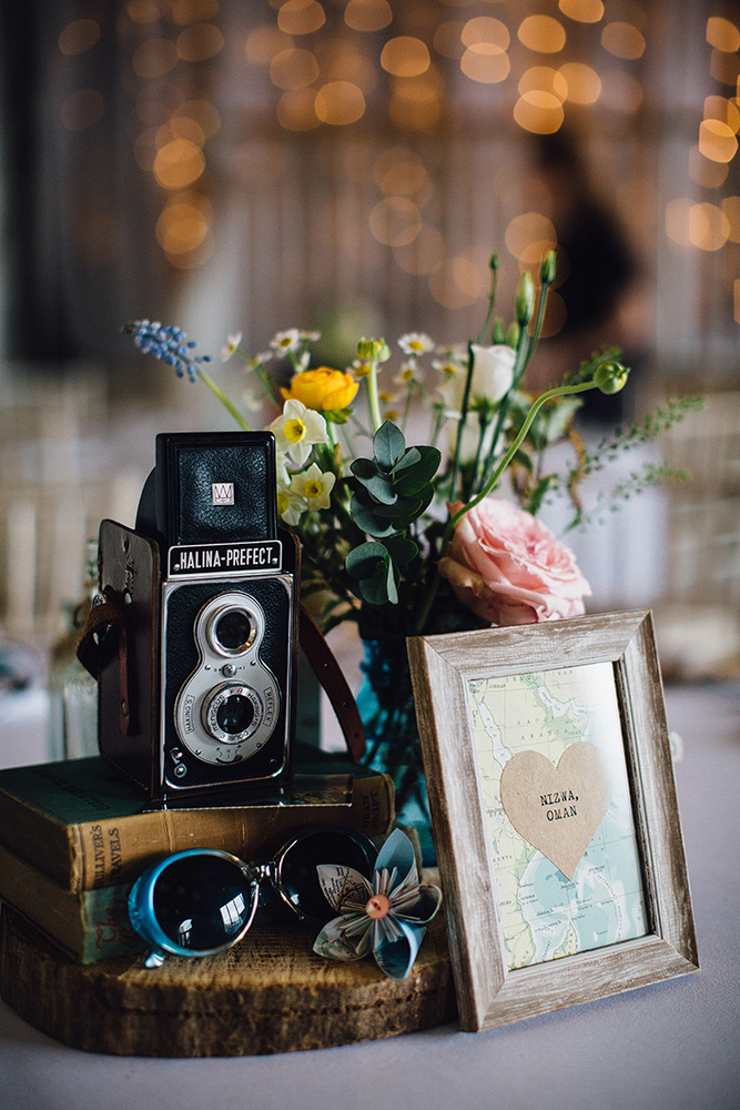 A Travel Theme Inspired Spring Wedding At Askham Hall With