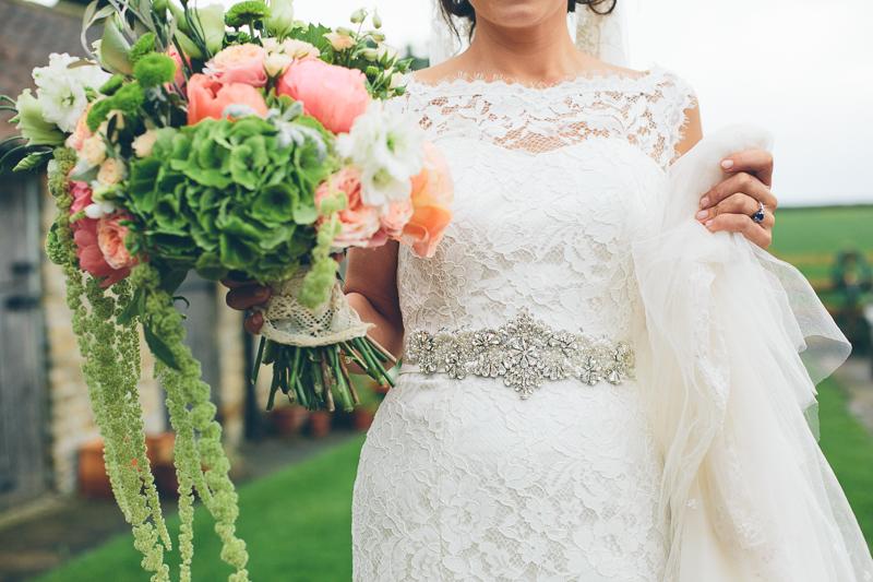 Wedding Dress With Blue 33 Cute Image by Christine Wehrmeier