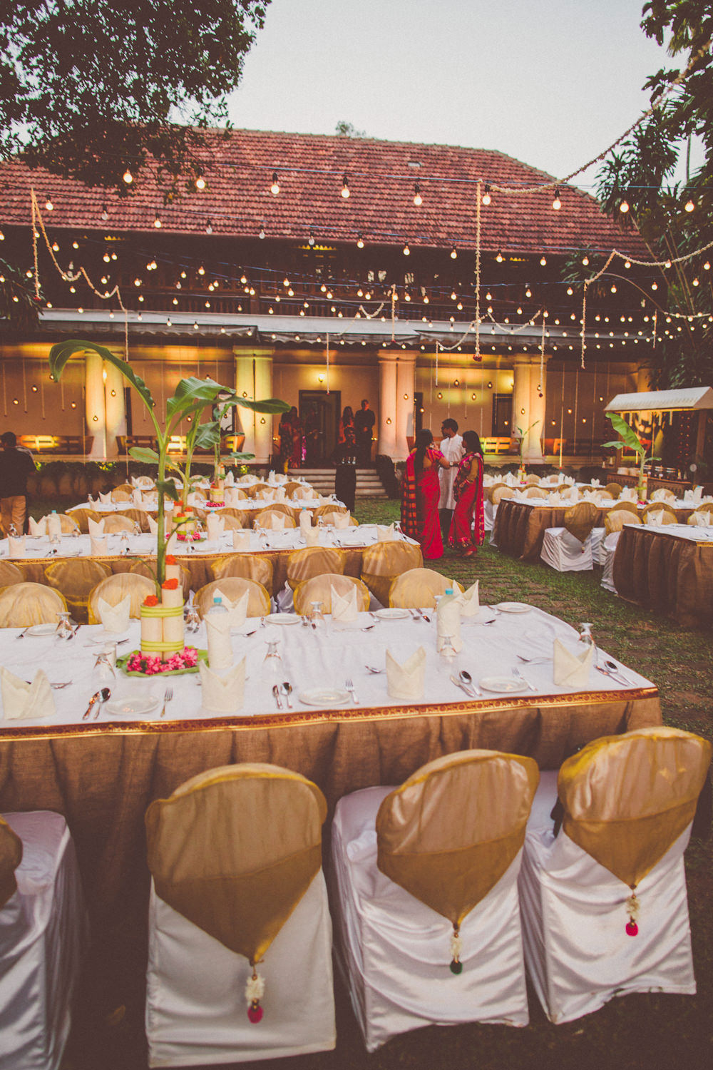 A Kerala Wedding In India With An Ivory And Gold Bridal