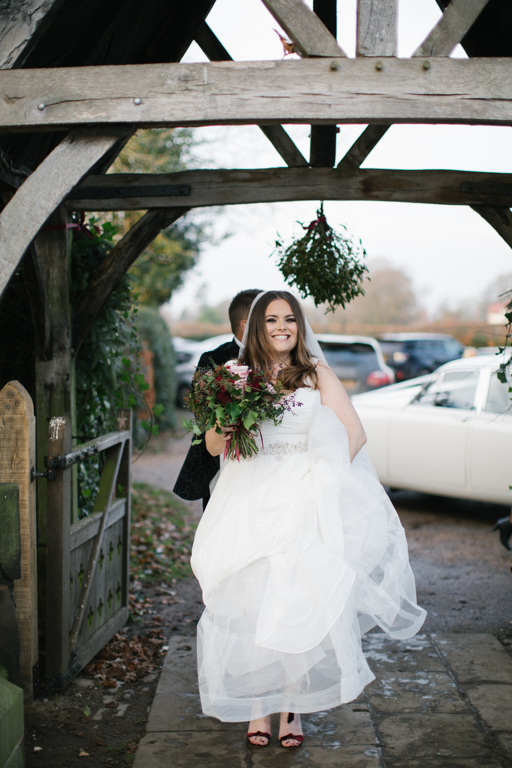 Christmas Wedding At Owen House Barn