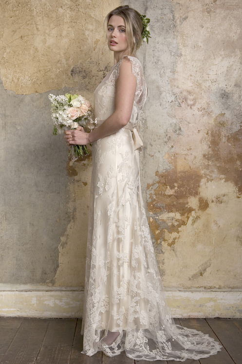Lace musings for the boho bride for French vintage wedding dresses