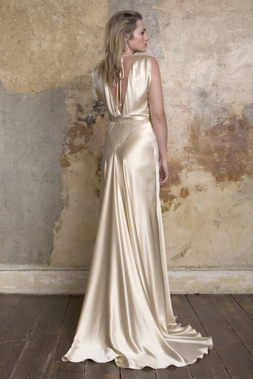 Stunning new collection from sally lacock for Old hollywood wedding dress