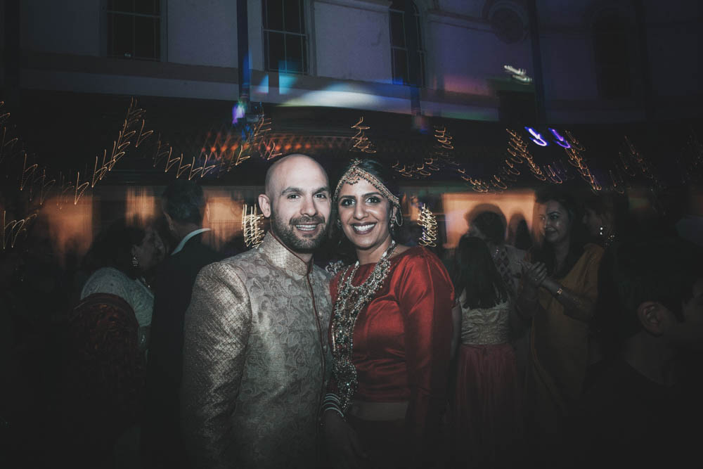 Non Traditional Red Wedding Dresses: Non Religious Wedding With Indian & Spanish Cultural