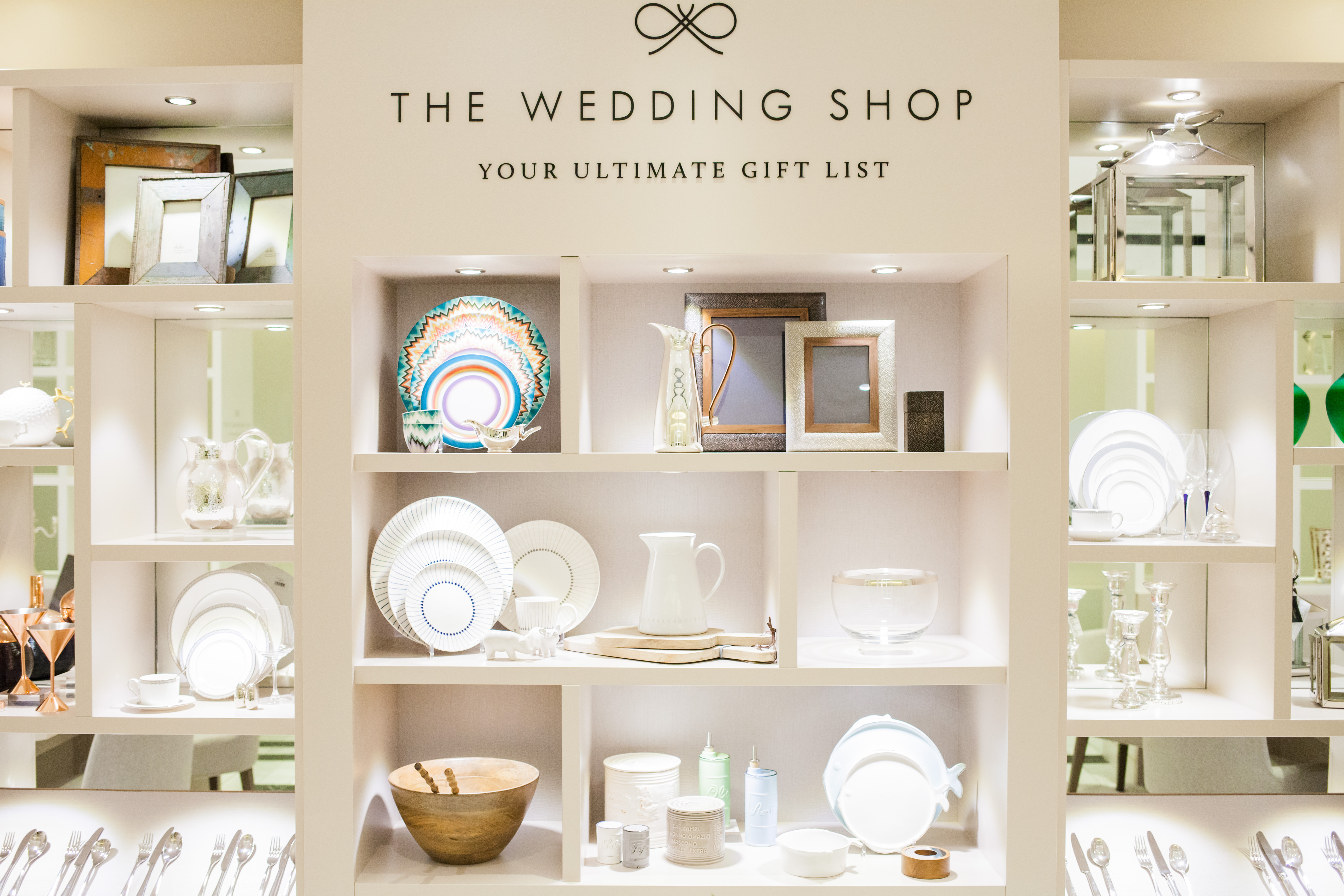 ... Wedding Shop The Wedding Shop at Selfridges Luxury Wedding Gift List