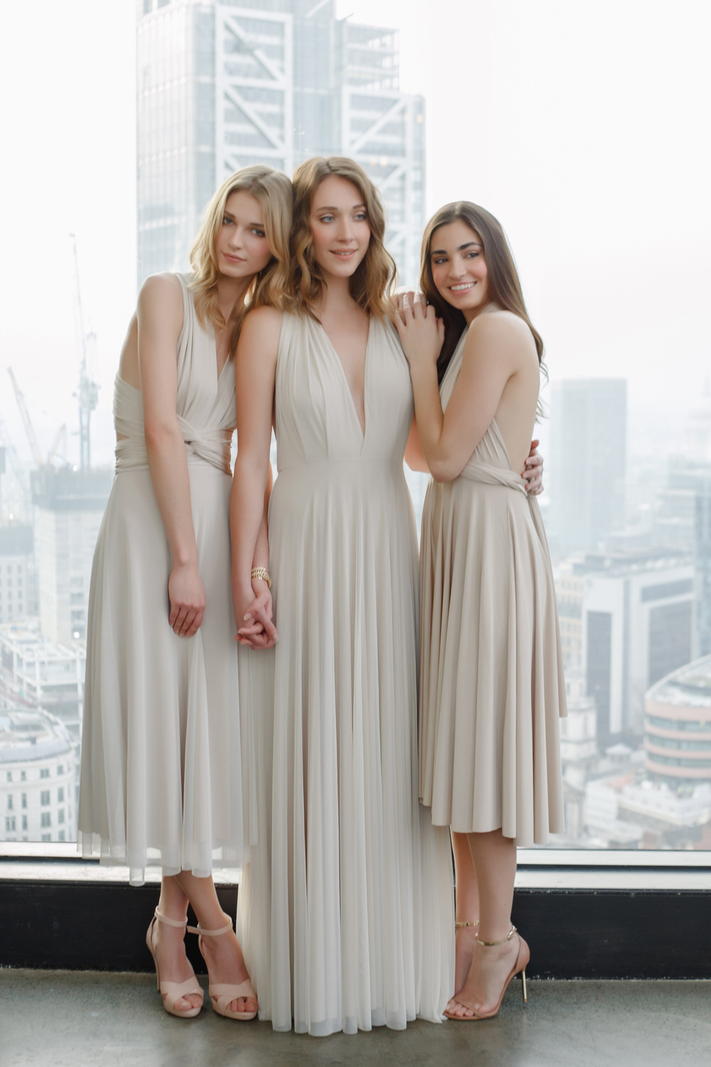 Twobirds rock my wedding uk wedding blog twobirds bridesmaid separates and dresses in oyster ombrellifo Gallery