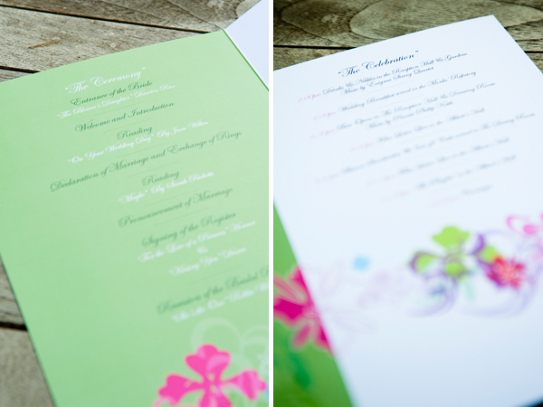 Wedding Order Of The Day: Order Of The Day - ROCK MY WEDDING