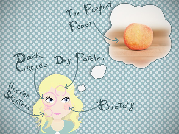 A Peaches And Cream Complexion? - ROCK MY WEDDING | UK WEDDING BLOG