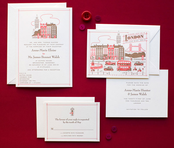 Wedding invitation archives rock my wedding uk wedding blog hellolucky have recently added to their visit range we have featured the london design before above but new designs now include paris and vegas baby stopboris