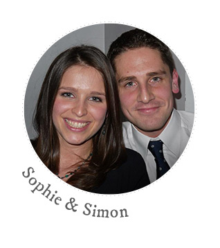 sophie and simon RMW Real Brides