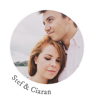 stef and ciaran RMW Real Brides
