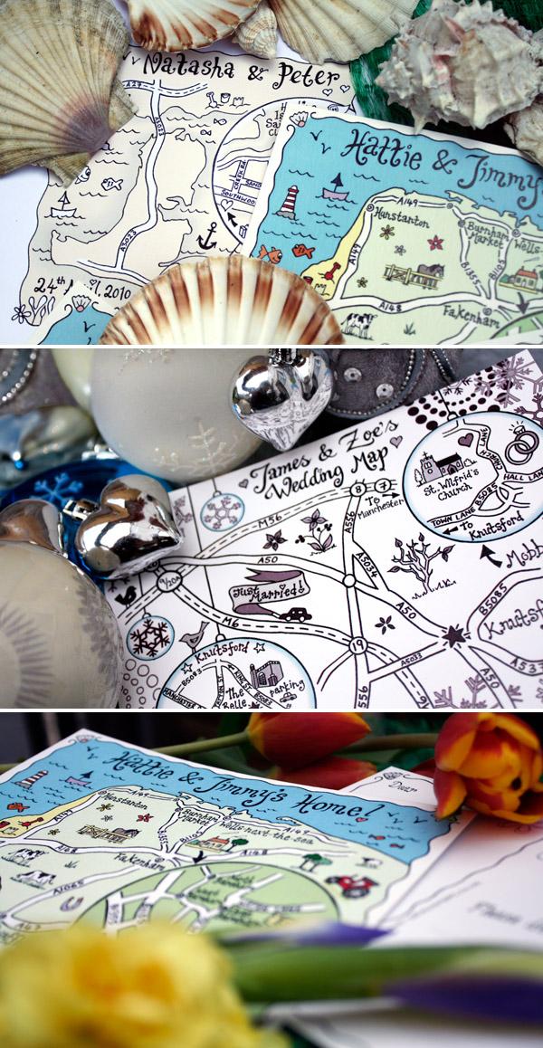 Map to my ... - ROCK MY WEDDING | UK WEDDING BLOG & DIRECTORY Draw Map For Wedding Invitation on