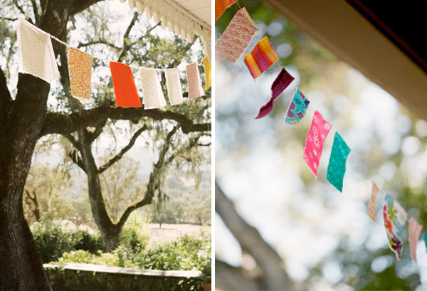 Savoir Bunting Rock My Wedding 2011 Inspiration: Whimsical, Charming and Handmade.