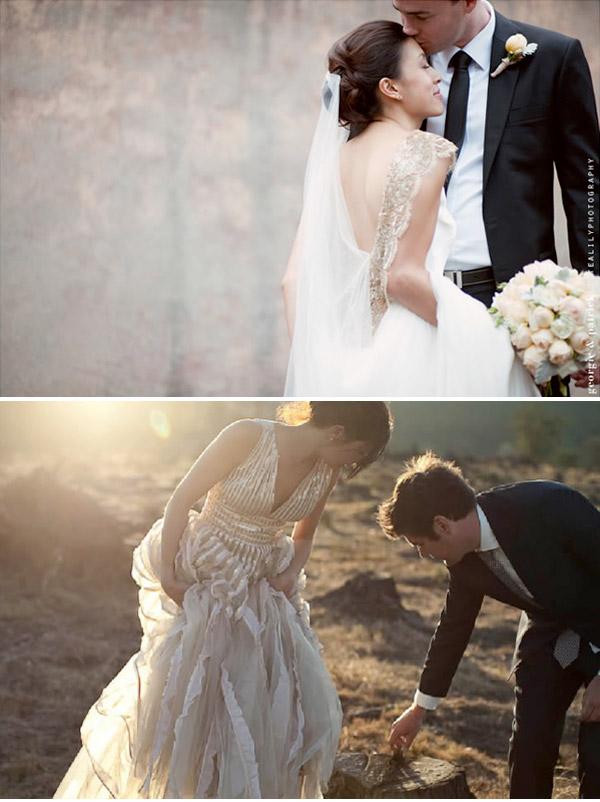 Rock Wedding Dress. Top Vintage Inspired Wedding Dress From Jenny ...