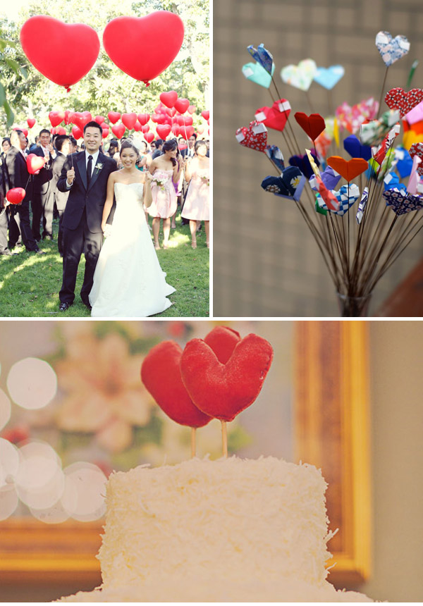 Savoir Hearts Rock My Wedding 2011 Inspiration: Whimsical, Charming and Handmade.