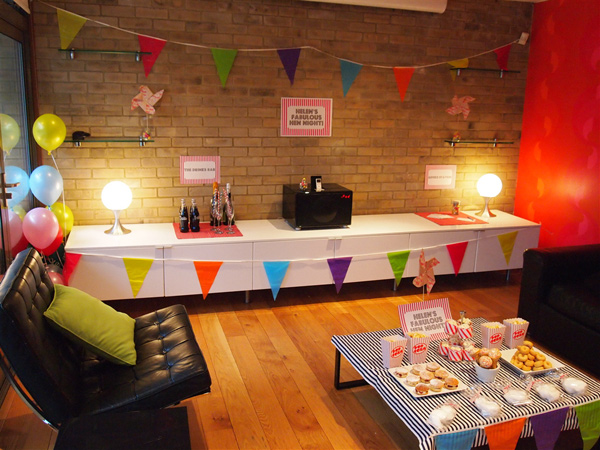 Hen party ideas and inspiration for Hen party at home decorations