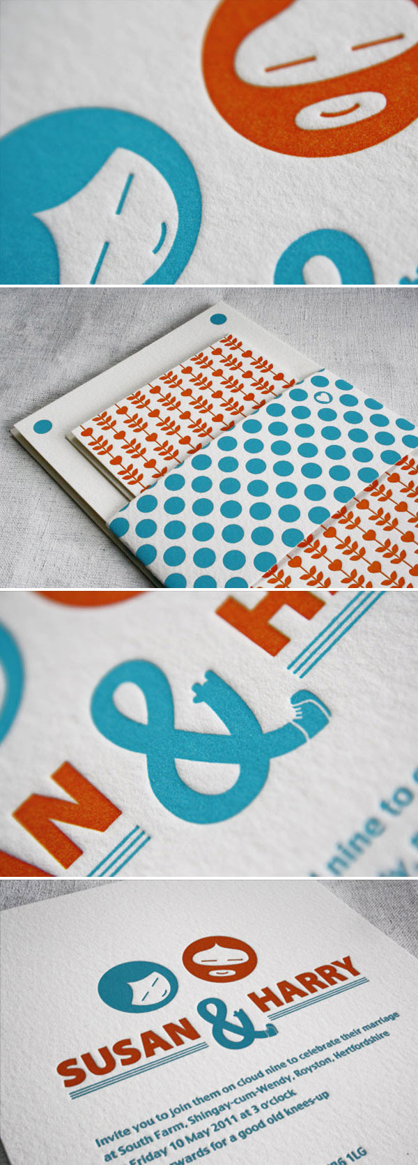 Eva Slade 3 Rock My Wedding Sponsor... Eva Slade Letterpress Stationery