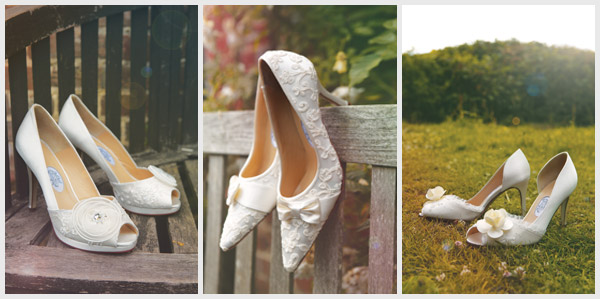 Diane Hassall Flora Wedding Shoes
