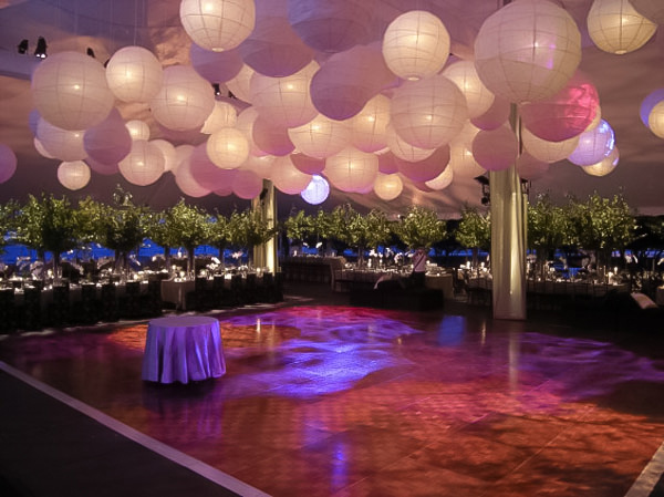 thread help me decorate my reception venue