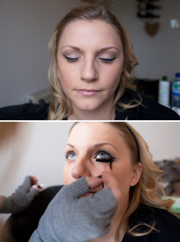 How To Apply False Lashes For Your Wedding Day