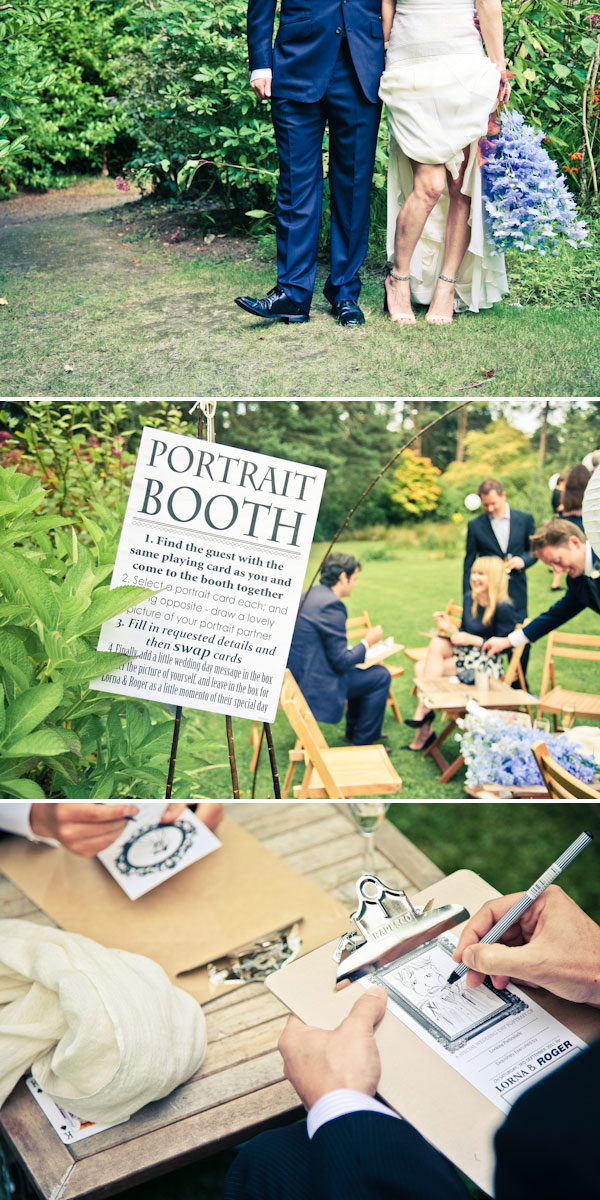 An Outdoor UK September Wedding By Daria Nova Photography With An Amanda Wakeley Gown