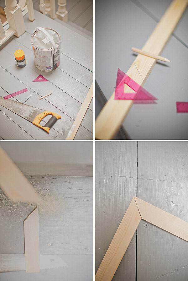 Pegs, Wool And Wood - A D.I.Y Polaroid Photo Frame. - ROCK MY ...