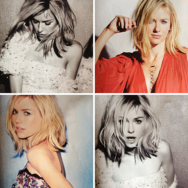 Naomi Watts short Hair The Long And Short Of It.