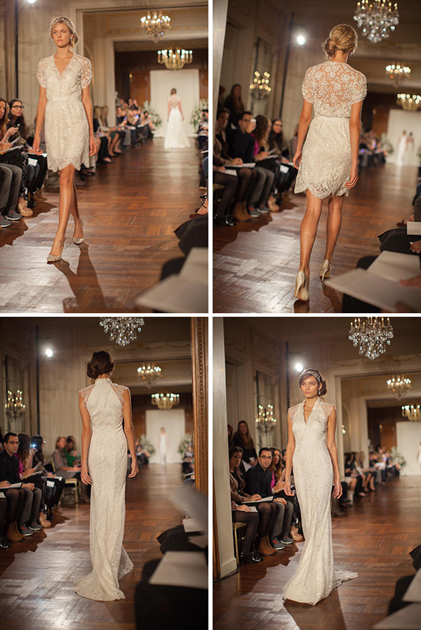 02 buttercup amaryllis Jenny Packham Bridal Collection 2013