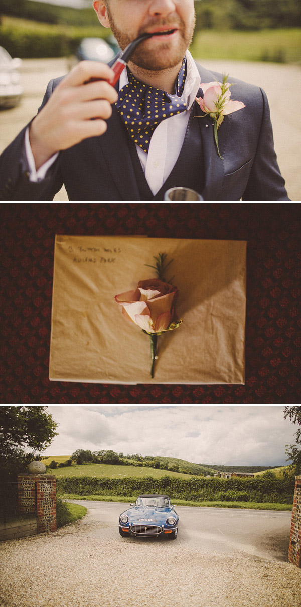 Polka Dot Cravats Austin Reed Wedding Suit