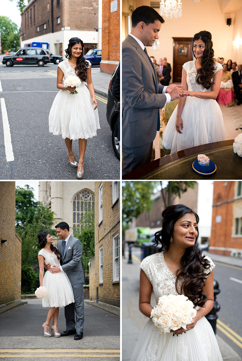 An Indian Fusion Wedding With A Cultural Ceremony At
