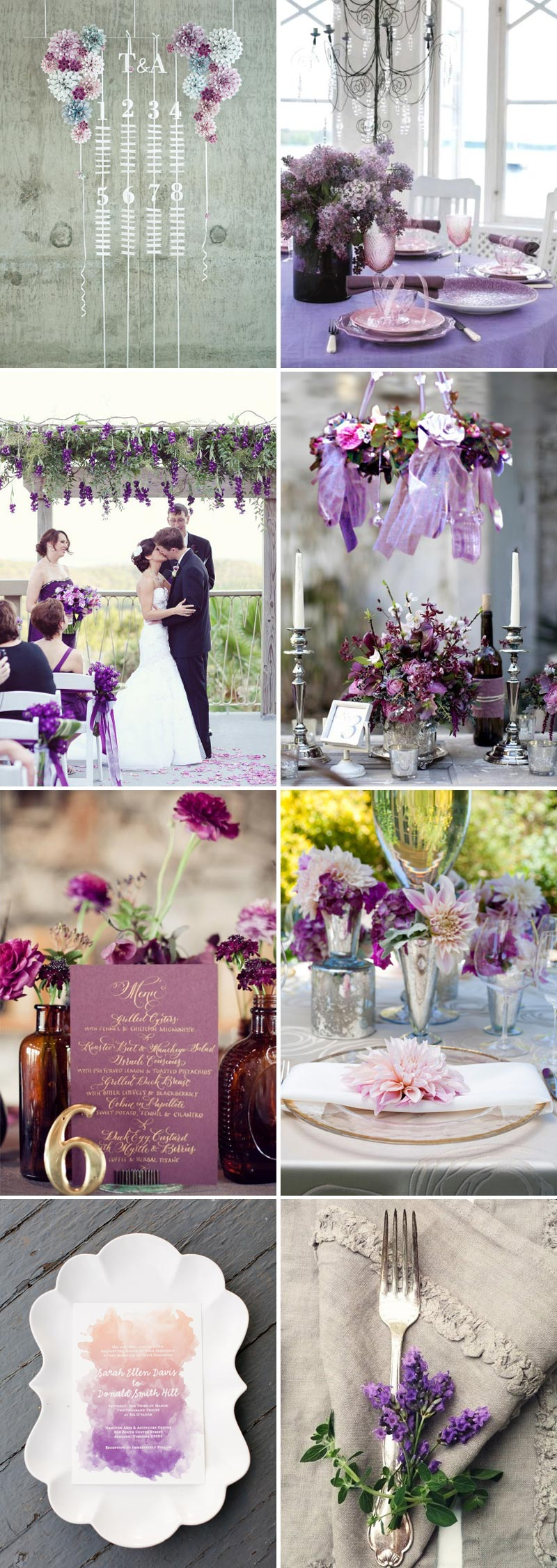 Purple Rain Rock My Wedding Uk Wedding Blog Amp Directory